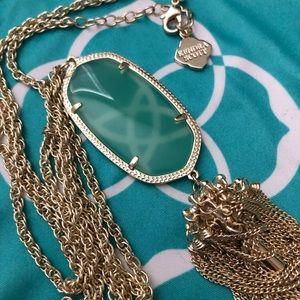 Kendra Scott Rayne pendant necklace in Chalcedony
